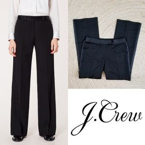 J. Crew Collection Wool Tuxedo Stripe Trousers